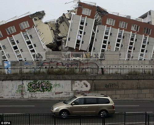 Chile Earthquake Destruction