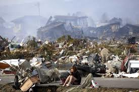 Aftermath japanese earthquake