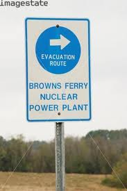 Evacuatrion browns ferry nuclear power plant