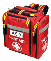 AED Backpack MobileAid First Aid 31480