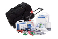 Roll-and-Go & Shelter-In-Place 4-Person 3 Day Emergency Kit