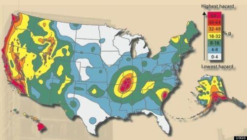 US-FAULT-LINES map USGS