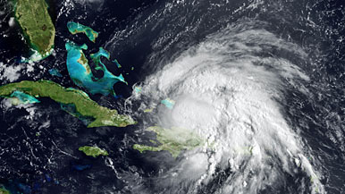 Hurricane Irene Monster Storm