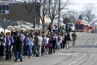 School evacuation drill