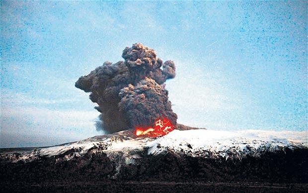 Katla Volcano Ash Plume