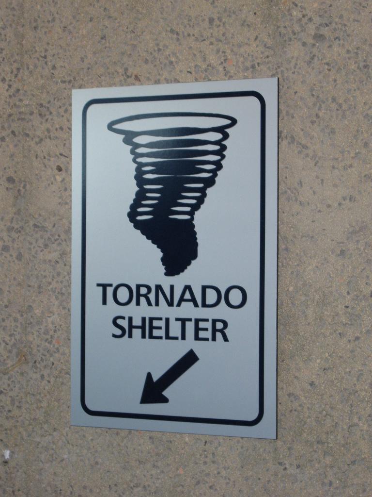Tornado-shelter-sign
