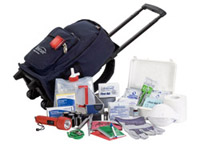 Easy-Roll-and-Go 1-Person 3-Day Complete Emergency Kit (82100)