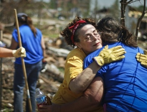 Disaster Relief Hug